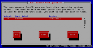 Set boot devices and boot labels