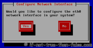 Configure Network Interface