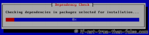 Installing Selected Packages - Dependency check